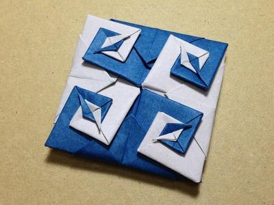 Modular Origami. Origami Vortex Coaster