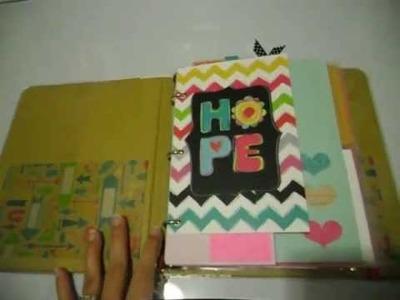 My personal.journal.planner.scrapbook.bible study book