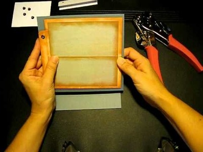 Nostalgia Envelope Mini Scrapbook with Flip-Flop Insert - Part 4