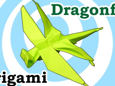 Origami Dragonfly Instructions [HD]
