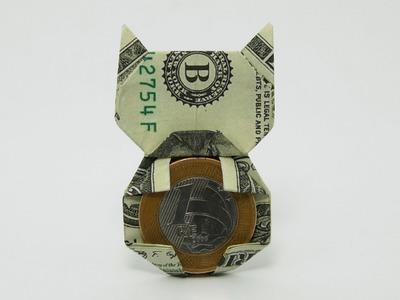 Origami Money Cat (Jo Nakashima)
