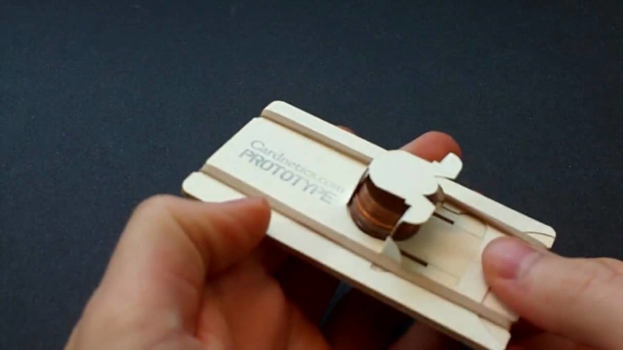 Penny Shooter Business Card