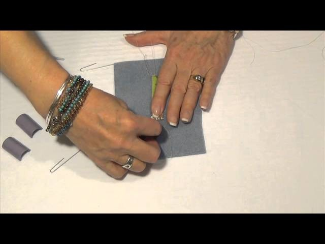 Removing Your Project from the Beading Loom