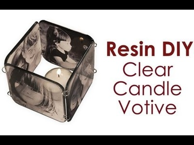 Resin DIY: Clear Votive Candle, by Little Windows