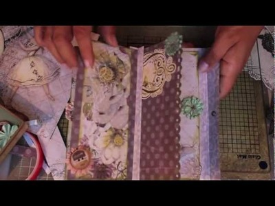 Scrapbooking Prima How-To Make a Super Cute & Fast Journal.m4v