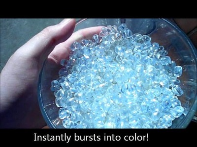 Solar Active® Magic Sun Beads! Color Change Beads Demonstration