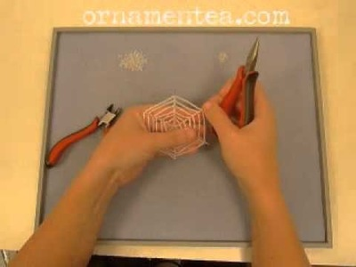 Spider Web Ornament Tutorial