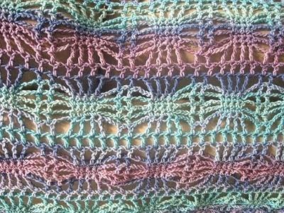 Square Sun Lacy Crochet Shawl - Crochet Tutorial - Spider Stitch Shawl