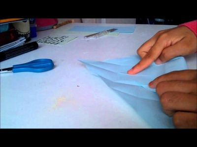 Tutorial: Origami box in less than 5 minutes!
