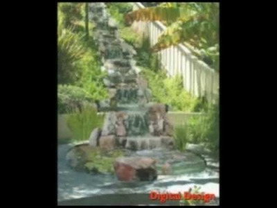 Waterall & Pond Design- DIY- How To