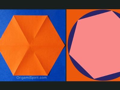 2 Ways to Make a Hexagon - Cómo hacer un Hexágono