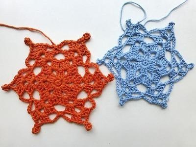 """Advent Calendar * December 18, 2012 * Crochet Star """"Isadora"""""""