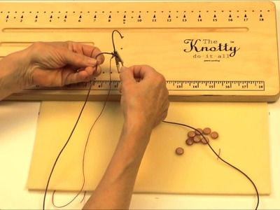 Antelope Beads - How To Make A Macrame Slider Clasp Using Leather Cord