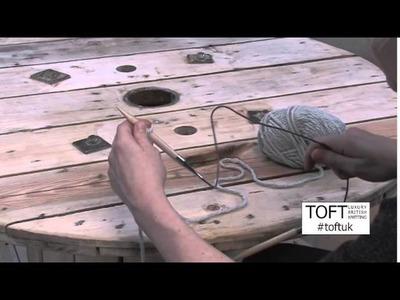 Beginner Knitting Tutorial   Cast On   TOFT