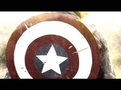Captain America's Shield : DIY