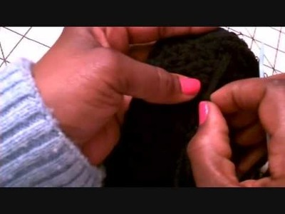 Cocoon Sandals Crochet Along Pt 4.wmv