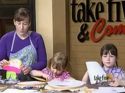 CraftSanity on TV: Making Flat Stanley projects with kids