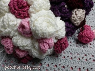 Crochet Flower Bouquet Tutorial
