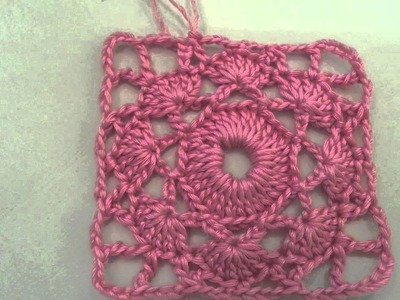 Crochet Granny Square Pattern  #1