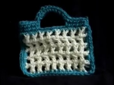 Crochet market string tote bag Part 1of 3 tutorial Easy