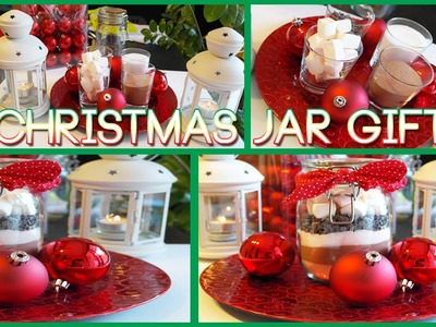 DIY Christmas Gifts - Christmas Jar DIY Gift ideas - EASY & CHEAP tutorial for Christmas 2014