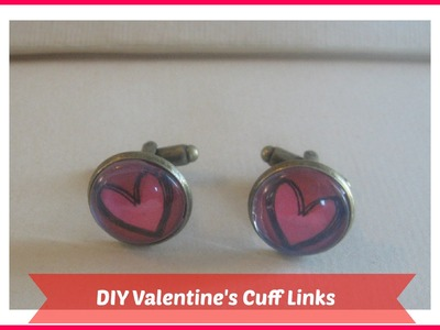 DIY  Cufflinks. DIY. Handmade Gift Ideas for Men.Tutorial. how to make cufflinks