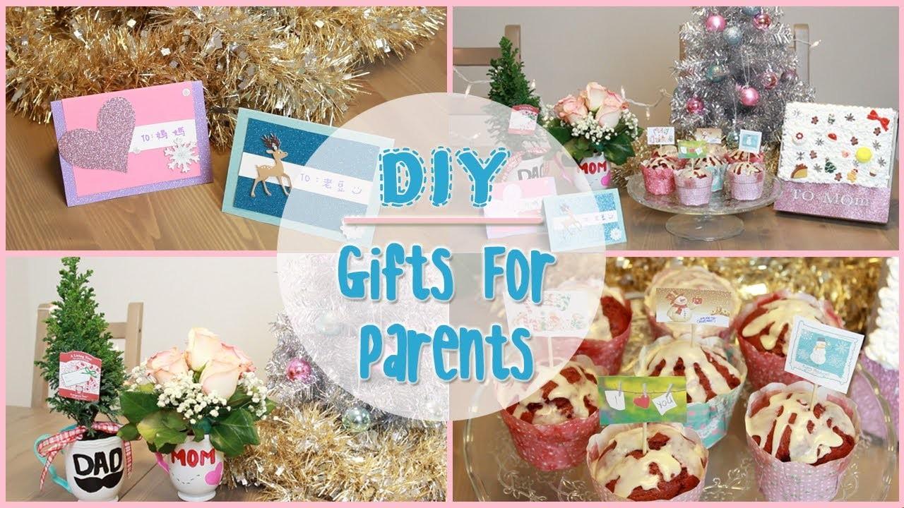 DIY: Holiday Gift Ideas for Parents | ilikeweylie