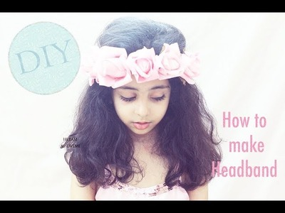 DIY : How to make Headband