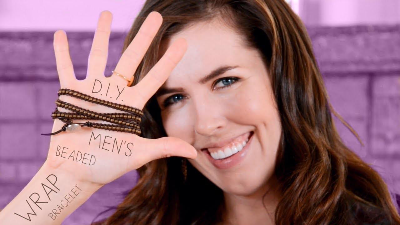 D.I.Y. Men's Beaded Wrap Bracelet!