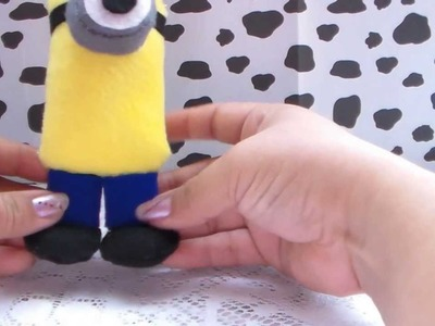 DIY! MINION PELUCHE. HOW TO MAKE MINION PLUSH!