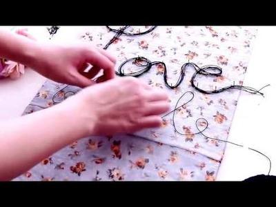 DIY Room Decor ✿ Easy Custom Quote Canvas Art - DIY Handycraft