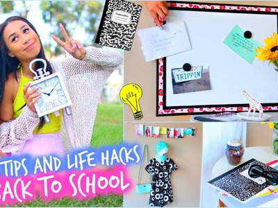 DIY Room Decorations + MAJOR Life Hacks for Back To School!