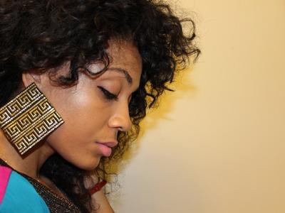 DIY Tribal Earrings #DIYGawd