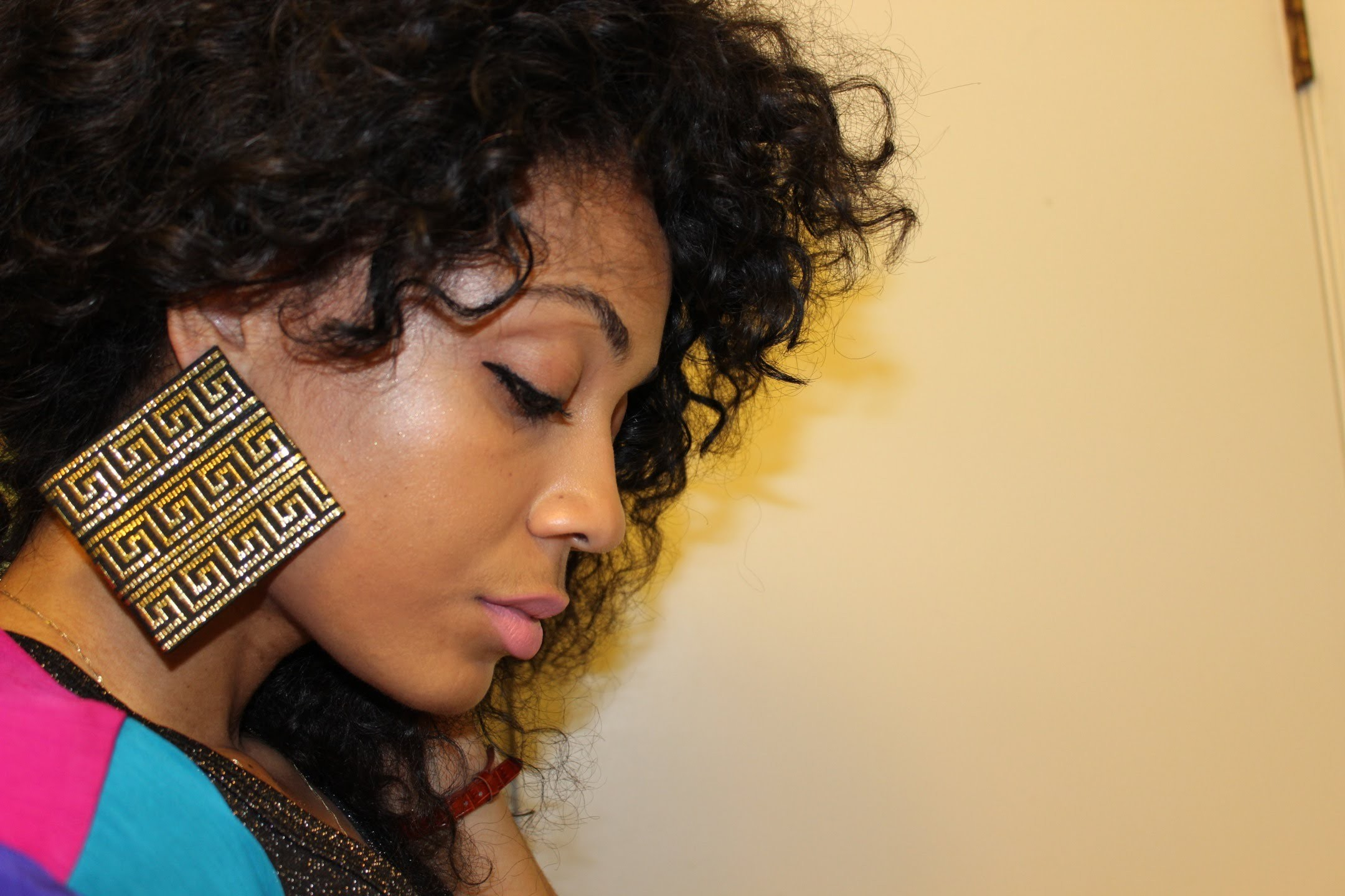 DIY Tribal Earrings #DIYGawd