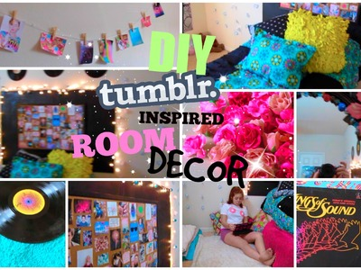 ♡DIY Tumblr Inspired Room Decor for Teens♡| Cute and Cheap! | CartneyBreanne