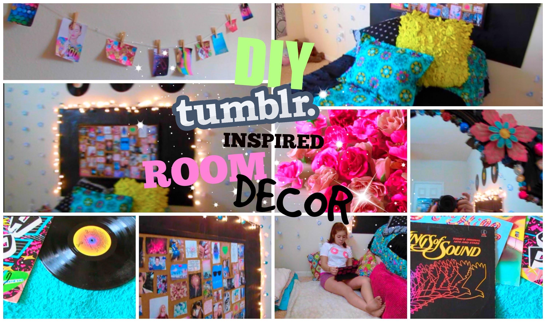 Cute Diy Home Decor Ideas: ♡DIY Tumblr Inspired Room Decor For Teens♡