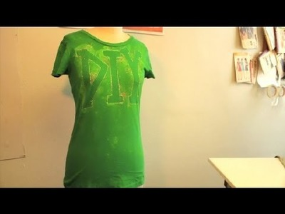 Do-It-Yourself Shirt Design : DIY Fashion Projects