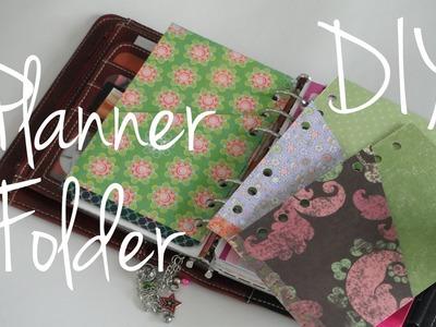 Folder Divider Tutorial DIY Franklin Covey Compact. Filofax Personal Planner