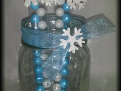 Frozen Wands DIY part 2 (Diorizella Events and Crafts)