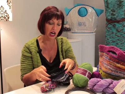 Good Knitting Yarns for Handbags : Knitting Lessons