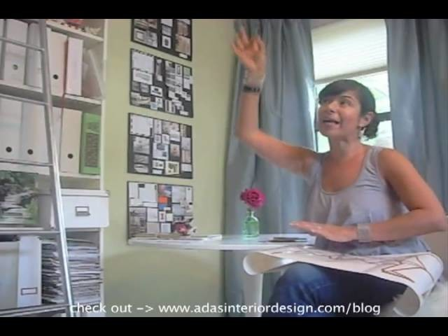 How I decorated a wall origami BIRD style {decal!} Interior decorating ideas