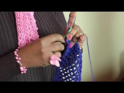 How to: A Lacy Crochet Stitch : Crochet Stitches