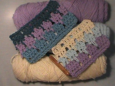 "How to Crochet the ""Lark's Foot Stitch"""