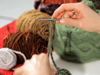 How to Do a Cabled Cast-On | Knitting