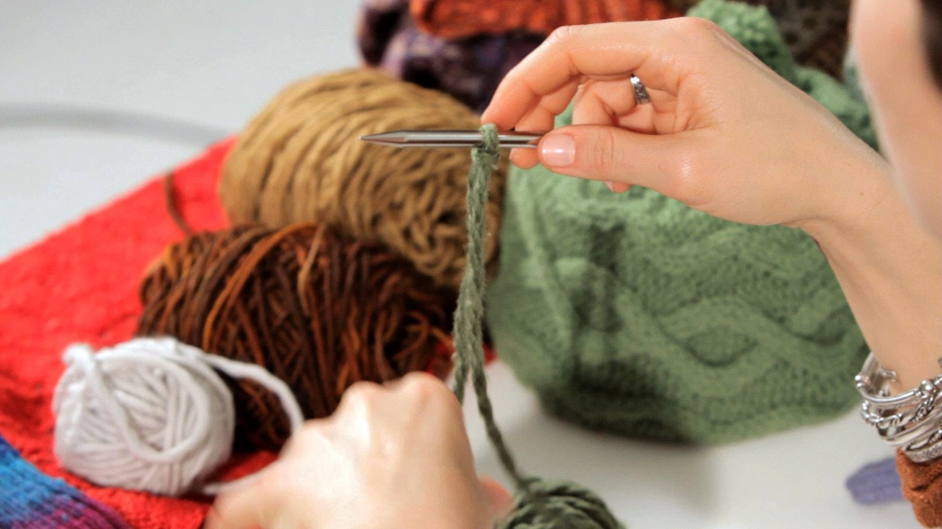 How to Do a Cabled Cast-On   Knitting