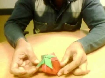 How to fold Origami Berry