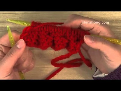 How To Knit Matt Flower Stitch