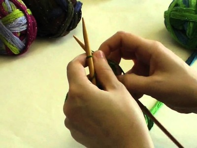 How To Knit With Joy Metallic