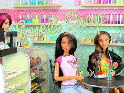 How to Make a Doll Sweet Shop - Doll Crafts