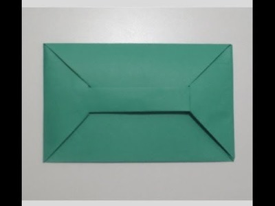 How to make a very cute Origami envelope ?